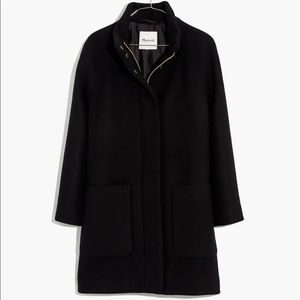 Madewell Petite Estate Cocoon Coat Insuluxe Fabric ma336